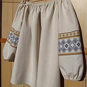 Русский стиль ручной работы. Ярмарка Мастеров - ручная работа Блуза в фольклорном стиле. Handmade.