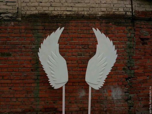 Декор поверхностей ручной работы. Ярмарка Мастеров - ручная работа. Купить Крылья ангела. Handmade. Крылья ангела, свадебный аксессуар