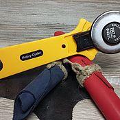 Материалы для творчества handmade. Livemaster - original item Tools for working with leather: Disc knife