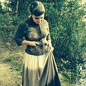 """Одежда ручной работы. Ярмарка Мастеров - ручная работа Жакет """"Летние травы"""". Handmade."""