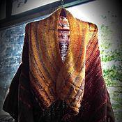 Одежда ручной работы. Ярмарка Мастеров - ручная работа Дизайнерское вязаное пальто-трансформер. Handmade.
