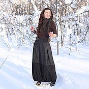 Одежда ручной работы. Ярмарка Мастеров - ручная работа юбка В КЛЕТОЧКУ. Handmade.