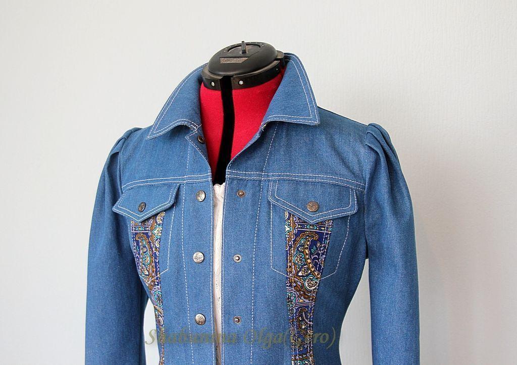 как украсить джинсовый пиджак своими руками фото показываете свои фото