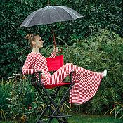 Одежда ручной работы. Ярмарка Мастеров - ручная работа Эффект бабочки - трикотажное платье. Handmade.