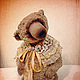 Мишки Тедди ручной работы. Ярмарка Мастеров - ручная работа. Купить Капучино. Handmade. Бежевый, teddy, опилки, итальянская вискоза