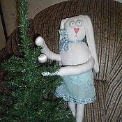Куклы и игрушки ручной работы. Ярмарка Мастеров - ручная работа заяц с морковкой. Handmade.