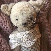 Мишки Тедди ручной работы. Ярмарка Мастеров - ручная работа Белая лисичка. Handmade.