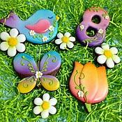 """Сувениры и подарки ручной работы. Ярмарка Мастеров - ручная работа """"Весна"""". Набор печенья.. Handmade."""