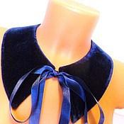 Украшения handmade. Livemaster - original item Collar blue. Handmade.