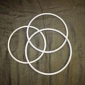 Accessories4 handmade. Livemaster - original item Ring-the basis for a Dreamcatcher or nursery mobile, 22,8-26,8 mm. Handmade.