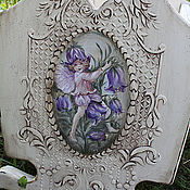 Для дома и интерьера handmade. Livemaster - original item The painted furniture.The cradle of the