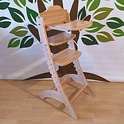 Мебель ручной работы. Ярмарка Мастеров - ручная работа Растущий стул со столиком из массива Бука.. Handmade.