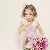 Работы для детей, ручной работы. Ярмарка Мастеров - ручная работа Сумочка-Роза детская валяная. Handmade.