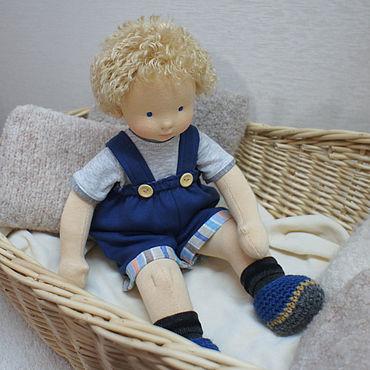 Куклы и игрушки ручной работы. Ярмарка Мастеров - ручная работа Малыш, 36 см вальдорфская кукла. Handmade.