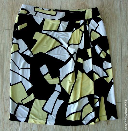 Одежда. Ярмарка Мастеров - ручная работа. Купить Elena Miro, юбка из вискозы, Италия, прет-а-портэ. Handmade.