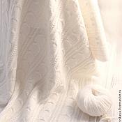 """Для дома и интерьера ручной работы. Ярмарка Мастеров - ручная работа Детский плед """"Infanta"""" (белый). Handmade."""