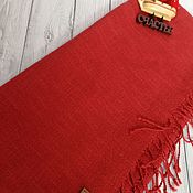 Аксессуары handmade. Livemaster - original item Scarves: Handmade woven scarf made of Italian yarn linen cotton. Handmade.