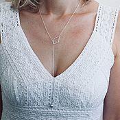 Украшения handmade. Livemaster - original item With pendant in silver 925 with diamonds c. Handmade.