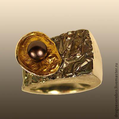 Кольца из серебра, ручная работа, Илья Максимов, кольцо серебро, украшения из серебра, ювелирные украшения из серебра, серебро 925, серебро 925 пробы, авторские украшения, другое серебро, кольцо из серебра, оригинальные украшения, кольцо с жемчугом