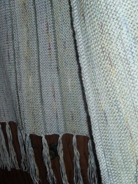 """Жилеты ручной работы. Ярмарка Мастеров - ручная работа. Купить Безрукавка-накидка """"Март"""". Handmade. Серый, серый цвет"""