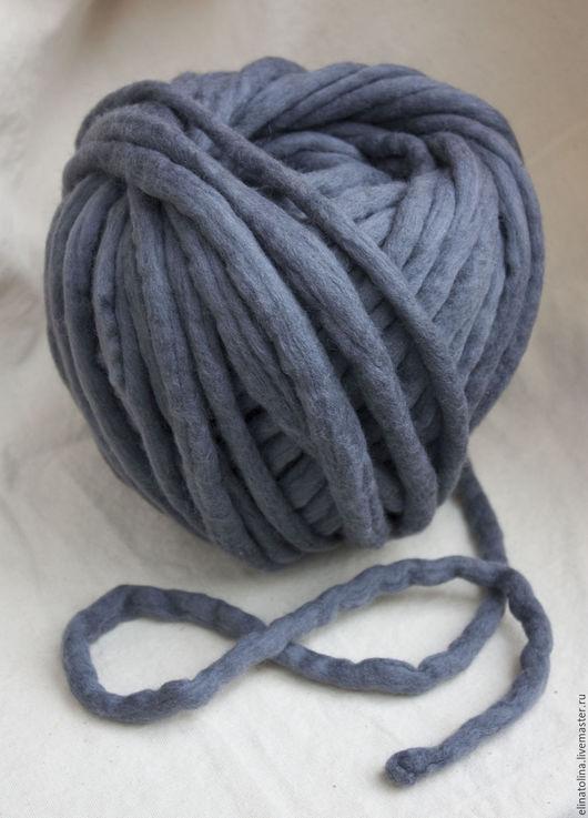 Вязание ручной работы. Ярмарка Мастеров - ручная работа. Купить толстая пряжа шерсть меринос. Handmade. Белый, шерсть 100%