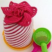 """Работы для детей, ручной работы. Ярмарка Мастеров - ручная работа Детская шапка """"Дюймовочка"""", шапочка для девочни. Handmade."""