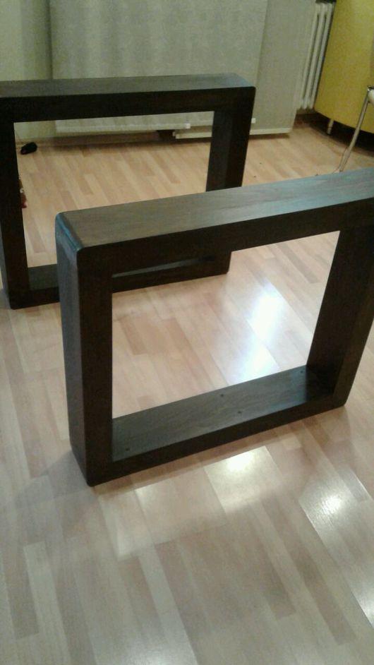 Мебель ручной работы. Ярмарка Мастеров - ручная работа. Купить Подстолья из бука в стиле лофт. Handmade. Бук, стол лофт