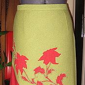 """Одежда ручной работы. Ярмарка Мастеров - ручная работа Юбка """"Зимний сад"""". Handmade."""