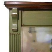 Для дома и интерьера ручной работы. Ярмарка Мастеров - ручная работа Зеркало деревянное настенное ручной работы Тоскана кантри прованс. Handmade.