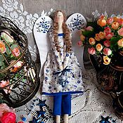 Куклы и игрушки ручной работы. Ярмарка Мастеров - ручная работа Винтажный ангел Огонек Надежды. Handmade.