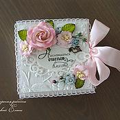 Свадебный салон ручной работы. Ярмарка Мастеров - ручная работа коробочка для денежного подарка (цвет любой). Handmade.