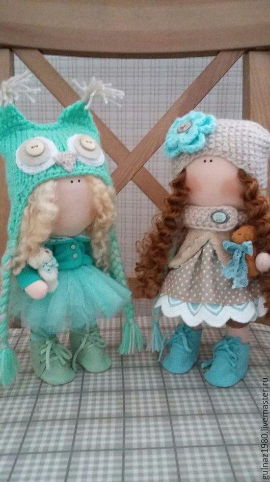Коллекционные куклы ручной работы. Ярмарка Мастеров - ручная работа. Купить малышки. Handmade. Мятный, кукла ручной работы