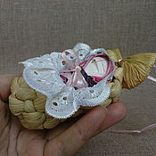 Куклы и игрушки ручной работы. Ярмарка Мастеров - ручная работа Кукла младенец в лапте. Handmade.