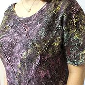 Одежда handmade. Livemaster - original item Felted jumper