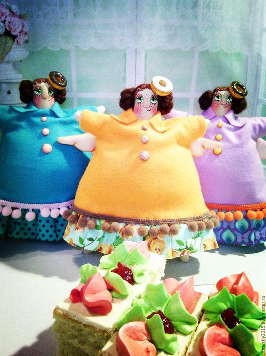 Куклы Тильды ручной работы. Ярмарка Мастеров - ручная работа. Купить сладкоежкам посвящается,,,))     (ангелы пирожных). Handmade. Комбинированный