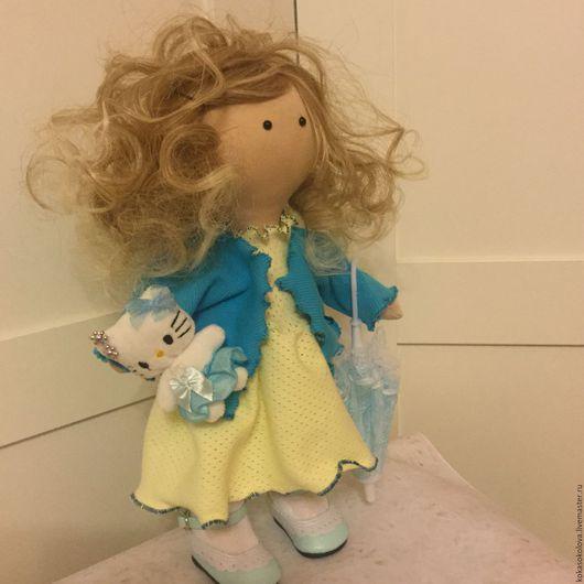 Куклы тыквоголовки ручной работы. Ярмарка Мастеров - ручная работа. Купить Кукла Мэри. Handmade. Белый, подарок девушке