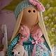 Коллекционные куклы ручной работы. Текстильная куколка- малышка Дженни. Юлия Соколова. Интернет-магазин Ярмарка Мастеров. Кукла текстильная