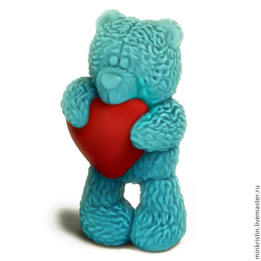 3D форма для мыла Мишка Тедди