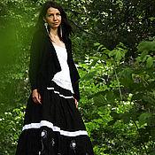"""Одежда ручной работы. Ярмарка Мастеров - ручная работа Длинная юбка """"Легче одуванчика"""". Handmade."""