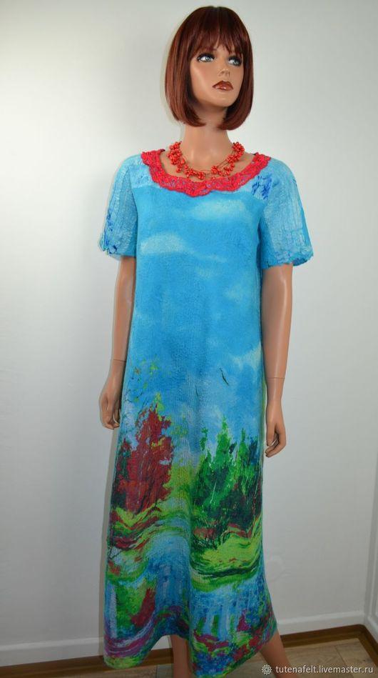 """Платья ручной работы. Ярмарка Мастеров - ручная работа. Купить Платье  валяное  нарядное  """"La belle  robe """". Handmade."""