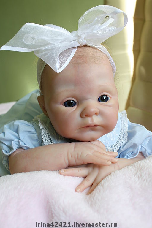 Куклы-младенцы и reborn ручной работы. Ярмарка Мастеров - ручная работа. Купить Кукла реборн Лукерья.. Handmade. Кукла реборн