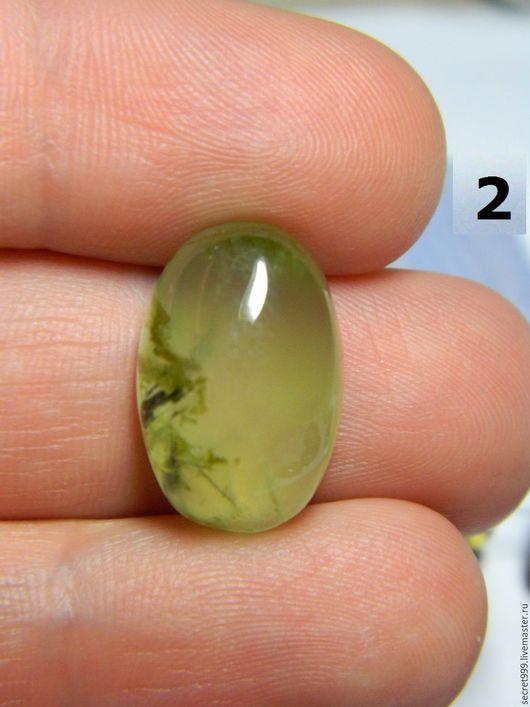 Для украшений ручной работы. Заказать пренит природный пренит зеленый камень зеленый кабошон зеленый. Кабошон со всех сторон. Ярмарка Мастеров.
