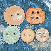 Материалы для творчества ручной работы. Ярмарка Мастеров - ручная работа Керамические пуговицы разные. Handmade.