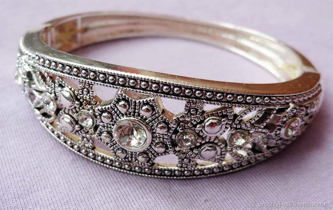 Avon silver bracelet, Vintage bracelets, Moscow,  Фото №1
