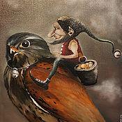 Картины и панно ручной работы. Ярмарка Мастеров - ручная работа Хранитель Сокровищ. Handmade.
