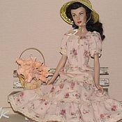 Куклы и игрушки ручной работы. Ярмарка Мастеров - ручная работа Скарлетт в романтическом образе. Handmade.