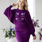 """Одежда ручной работы. Ярмарка Мастеров - ручная работа Костюм """"Purple"""". Handmade."""
