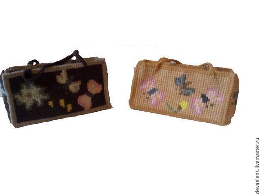 Женские сумки ручной работы. Ярмарка Мастеров - ручная работа. Купить Сумка вышитая. Handmade. Бежевый, рисунок, шерстяная пряжа