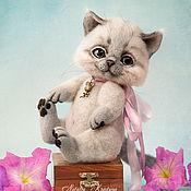 Куклы и игрушки ручной работы. Ярмарка Мастеров - ручная работа Котенок Рыся. Handmade.