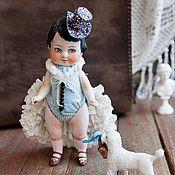 Куклы и игрушки ручной работы. Ярмарка Мастеров - ручная работа Куколка из антикварных деталей Арнелла Гужвинская и Феликс. Handmade.